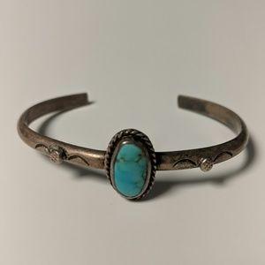 Jewelry - Vintage Turquoise Cuff Bracelet
